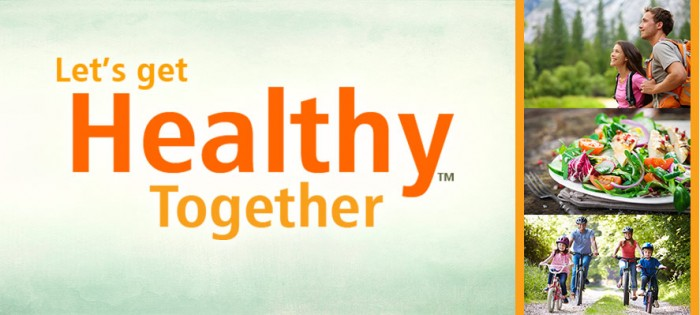 Let's Get Healthy Together!