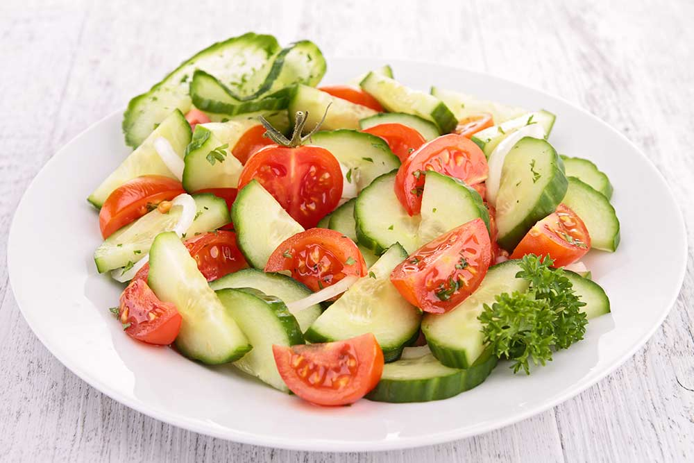 5 Minute Cold Cucumber Salad
