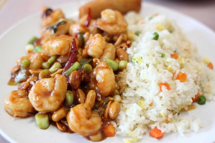 Peanut shrimp