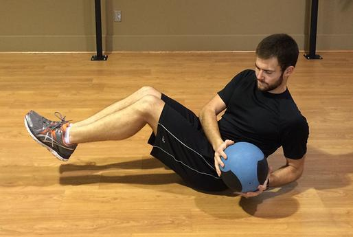 Twists with a Medicine Ball