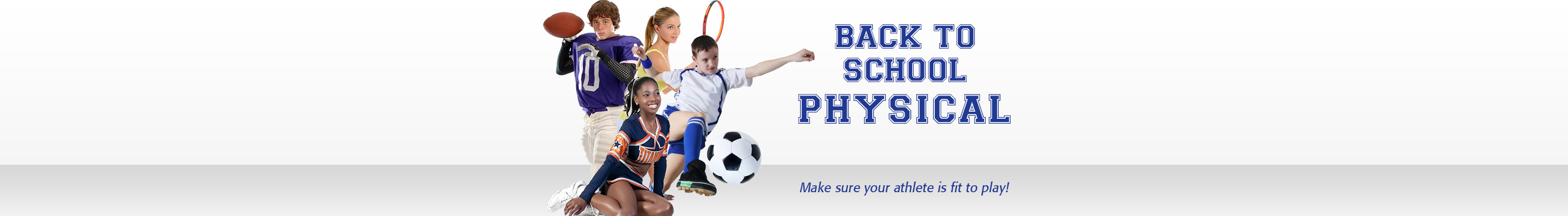 Back To School Physicals for Student Athletes
